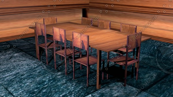 kitchen table 3D