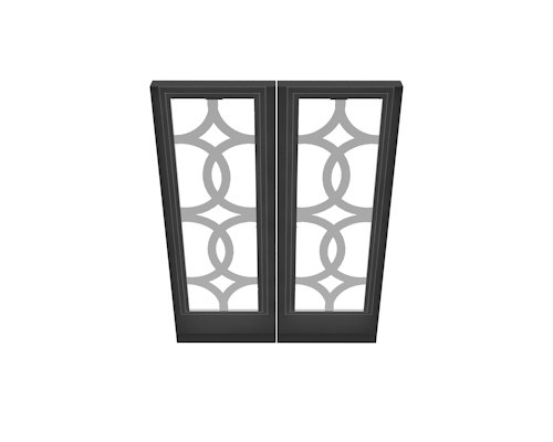 3D window architecture