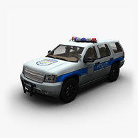 Chevrolet Tahoe Police(GMT900)