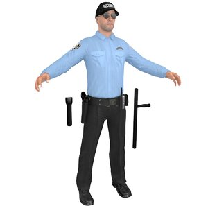 3D security guard 2