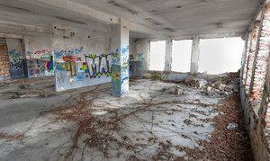abandoned factory vr 3D model
