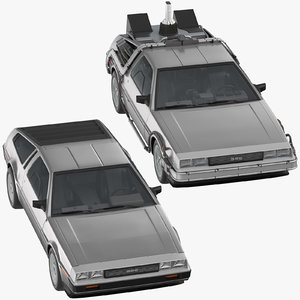 delorean standart future 3D