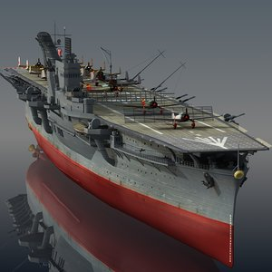 japanese hiyo 3D model
