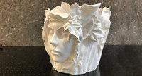 faced print pot 3D