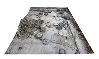 abandoned factory floor 3D model