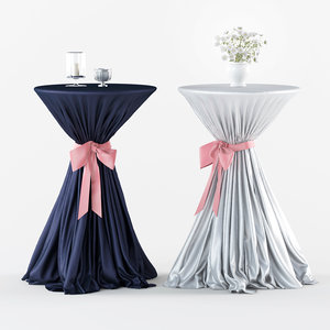 3D coctail table event