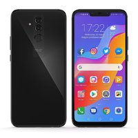 E3D - Huawei Mate 20 Lite Space Gray