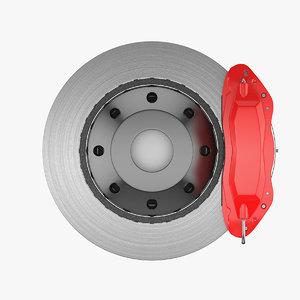 3D brake disc