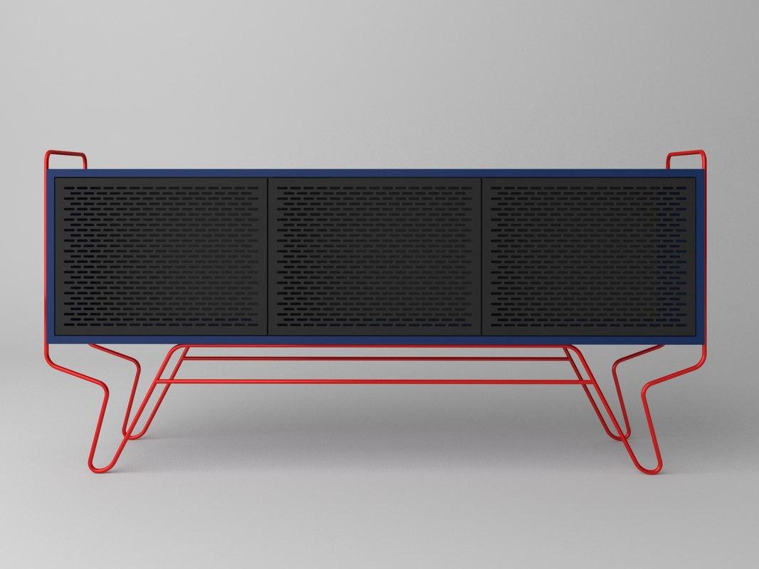 console design 3D model