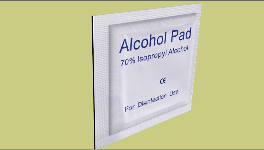 alcohol pads model