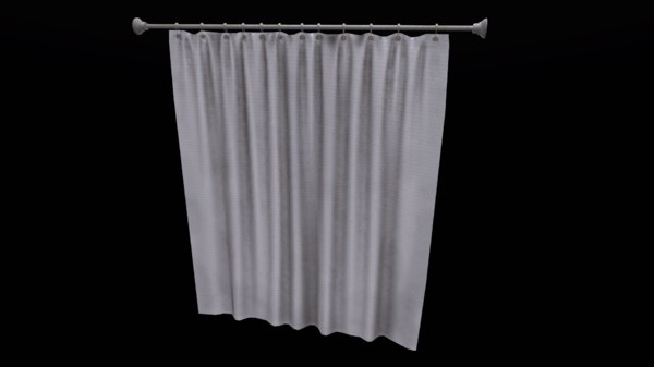 bath curtain 3D