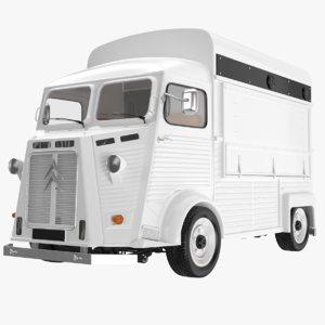 citroen truck 3D model