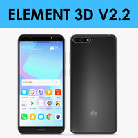 E3D - Huawei Y6 2018 Black