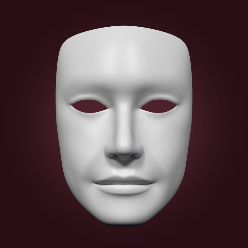 3D model neutral mask