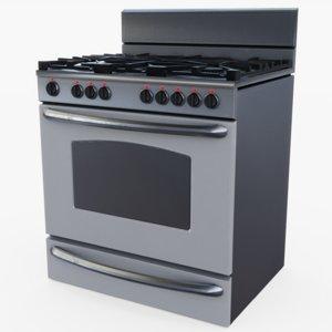 3D oven pbr