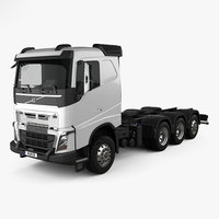 Volvo FH Chassis Truck 4-axle 2016
