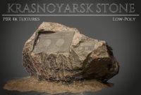 3D model krasnoyarsk stone