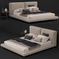 3D ditre italia bed table model