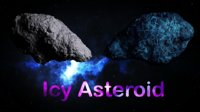 Icy Asteroid
