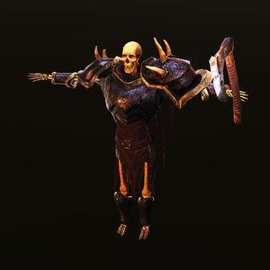 sceleton warrior model