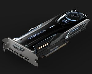 graphic card nvidia model