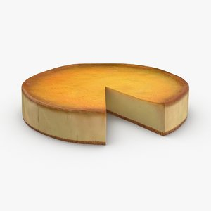 3D new-york-style-cheesecake---slice-cut