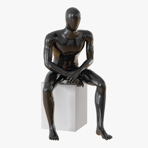 faceless mannequin model