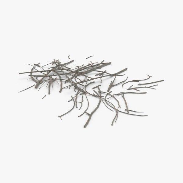 fallen-tree-branches-01 model