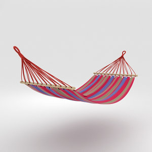 hammock hamaca bed 3D model