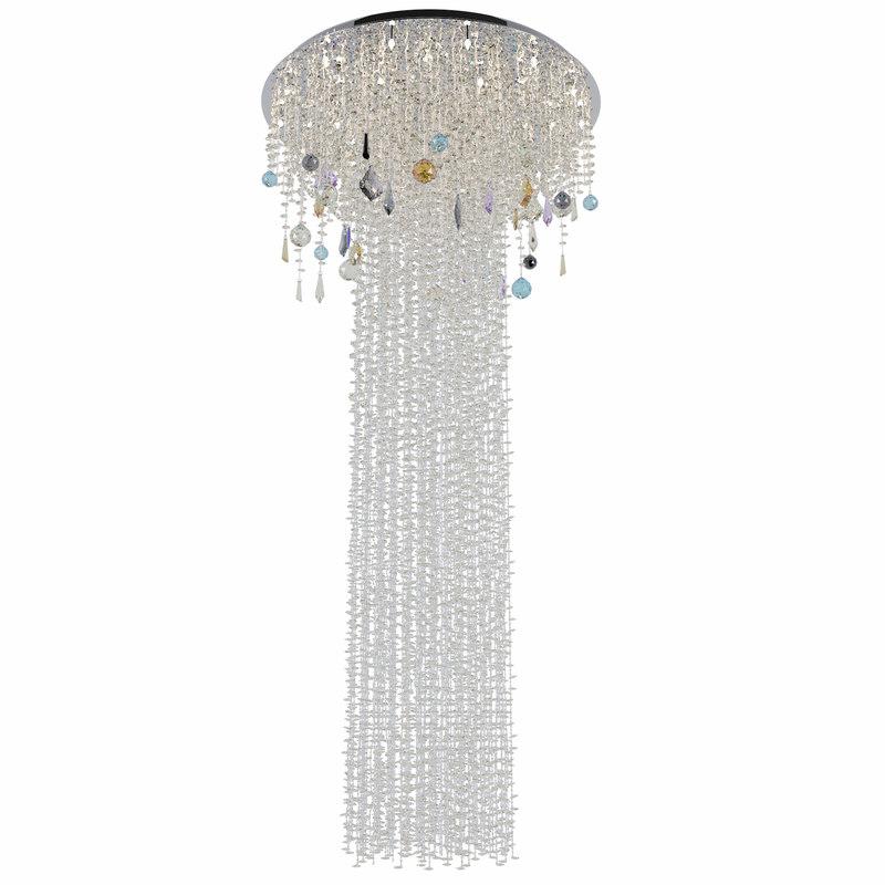 3D chandelier san remo h