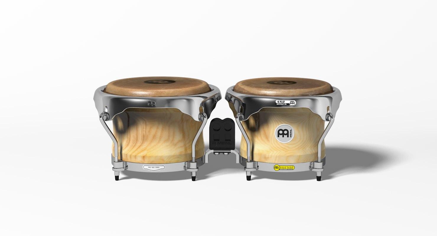 meinl bongo 3D model