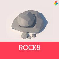 rock 8 3D