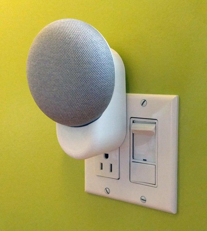 google home mini outlet 3D model