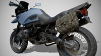 3D motorbike vehicle
