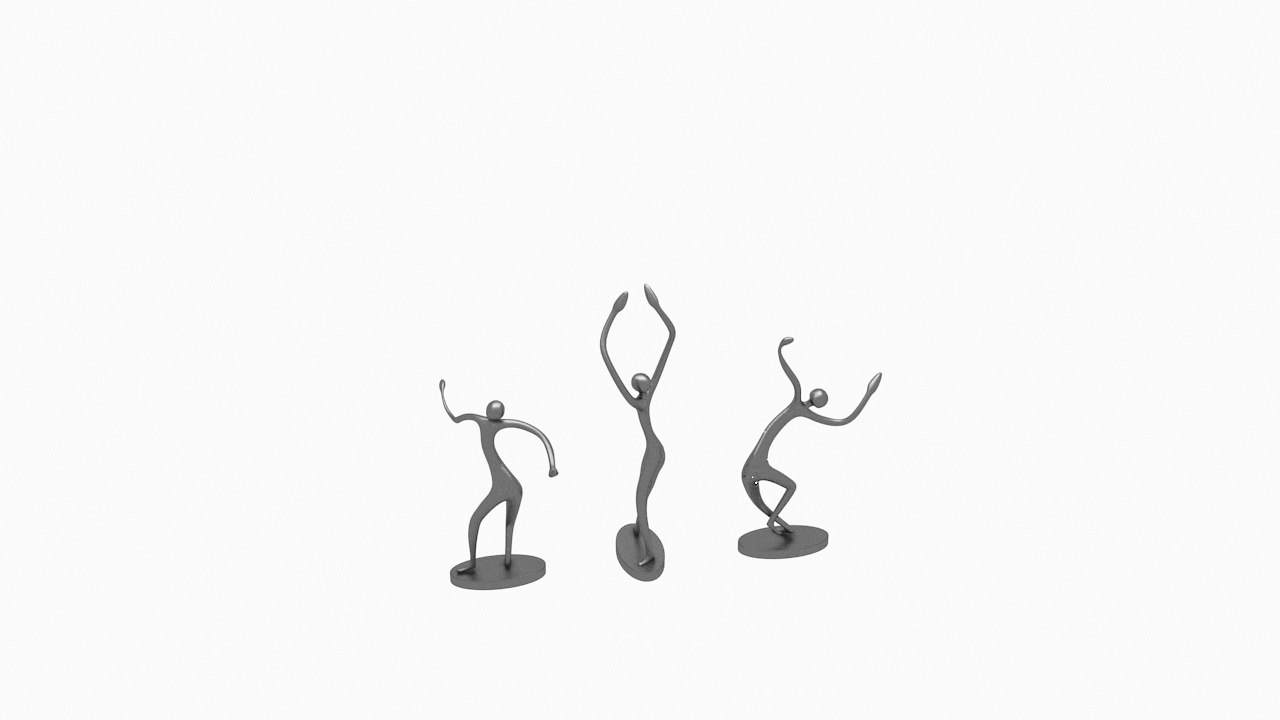 sculpture art statues 3D model