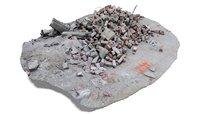 rubble debris 2 architectural 3D