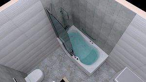 bathrooms model