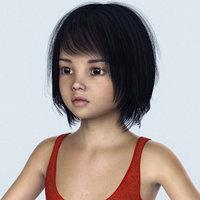 female child 3D