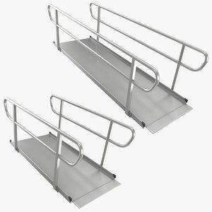 wheelchair ramp 3D