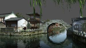 3D panorama - scene model