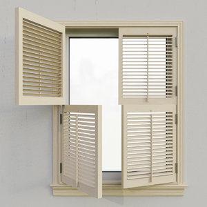 3D shutters 5 model