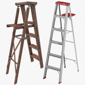 painting ladders 3D