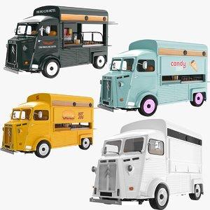 3D trucks citroen model