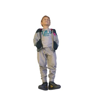 scanned cool standing 3D