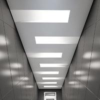 3D suspended ceiling light