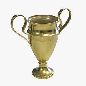 3D sport trophy