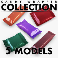 candy wrapper volume 1 3D model