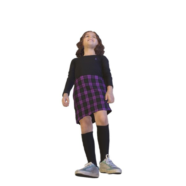 scanned girl body model
