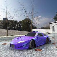 3D body car