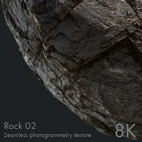 Rock 02 - seamless photogrammetry texture - 8k